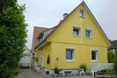 Zimmerei Hog - Holzhaus Außenfassade